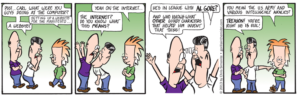 Oh NO! Not The Internet!