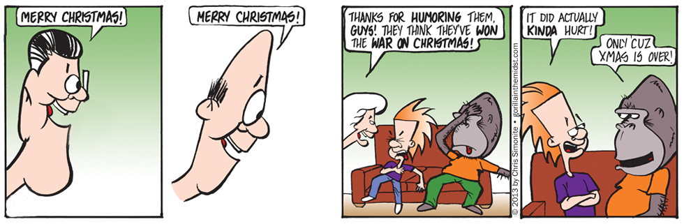 The Horrors Of War (On Christmas)
