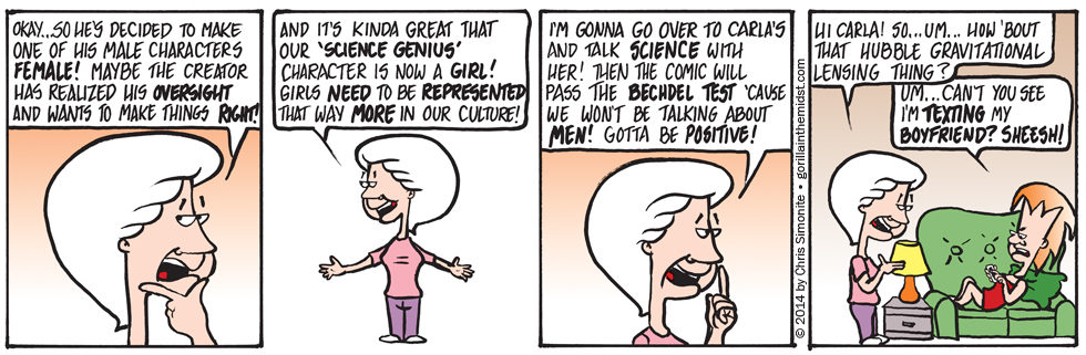 The Bechdel Test Part 3