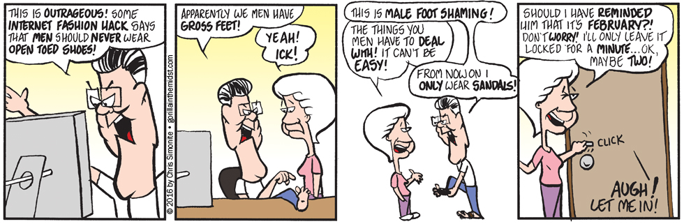 Feet Ain't Perty!